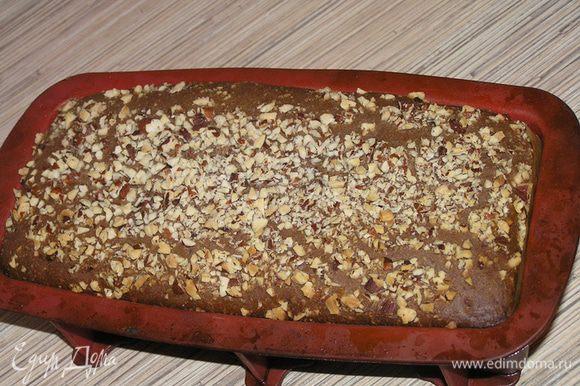 Духовку разогреть до 220*С, выпекать хлеб около 25-30 минут до румяного цвета.