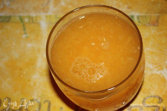 Натираем цедру и выжимаем сок у апельсинов.