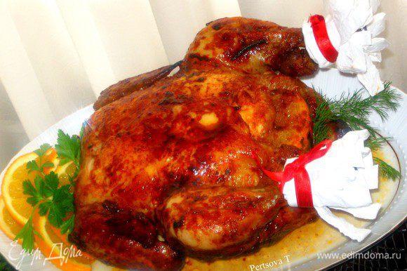 Для этого нам понадобится небольшая курица весом около 1кг.