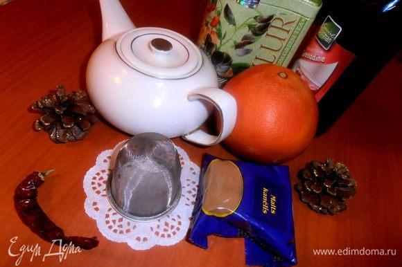 Чайное приготовление...