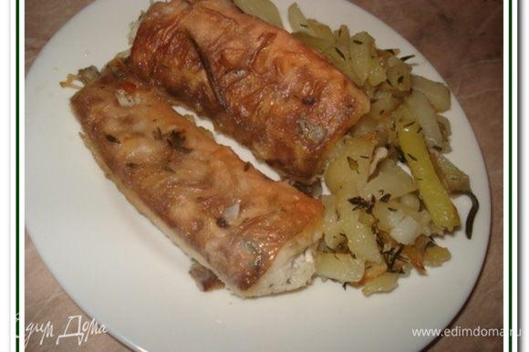 рыба конгрио с чесноком рецепт