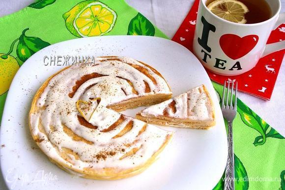Подаём тёплыми, с чаем или кофе. Приятного аппетита!
