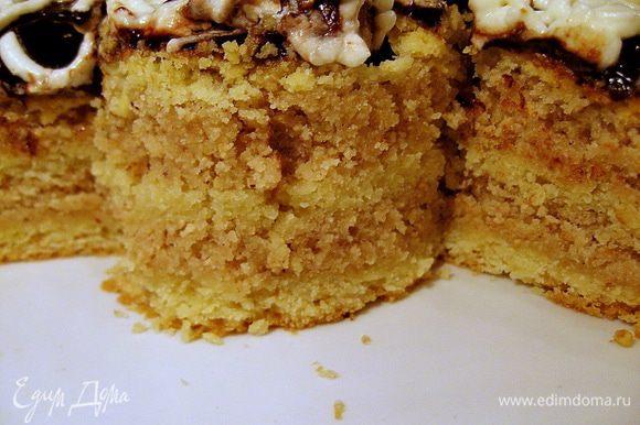 Вариант №3: Полностью заменяем грецкие орехи измельченным фундуком.