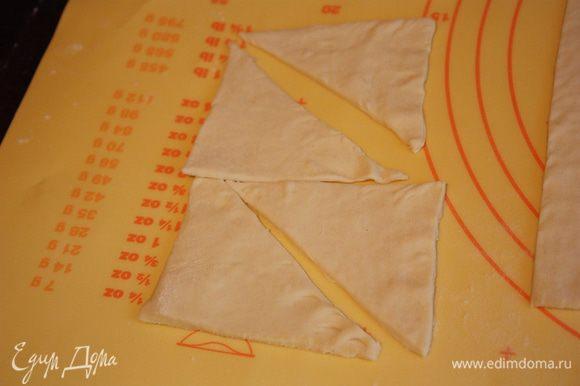 """Оставшееся тесто раскатываем и либо просто накрываем сверху,либо нарезаем треугольниками и выкладываем """"черепицей""""."""