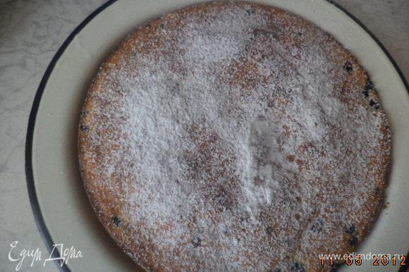 Остывший пирог посыпать сахарной пудрой. Приятного аппетита!!!