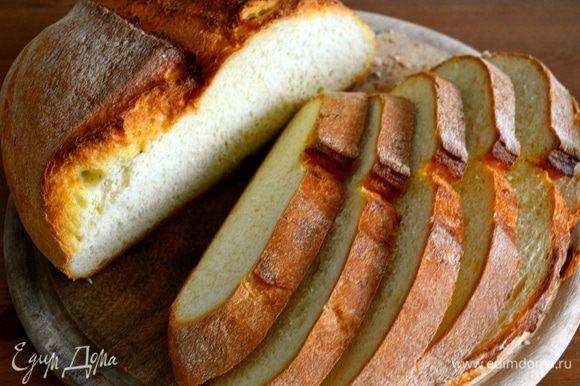 Для этого рецепта лучше использовать домашний хлеб.