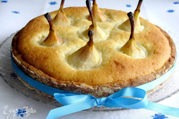 """Еще я приготовила пирог """"Волшебный грушевый лес"""" по рецепту Лизы. Он просто тает во рту! )))))"""