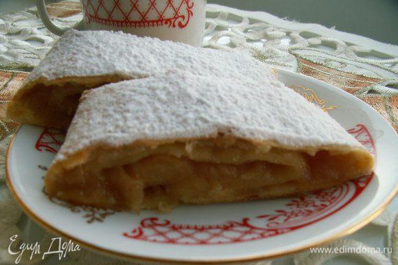Я просто влюбилась в нежнейший яблочный рулет от Катерины http://www.edimdoma.ru/retsepty/56157-yugoslavskiy-yablochnyy-rulet Сочетание творожного теста и яблочной начинки восхитительное! Катюша, спасибо за рецепт!