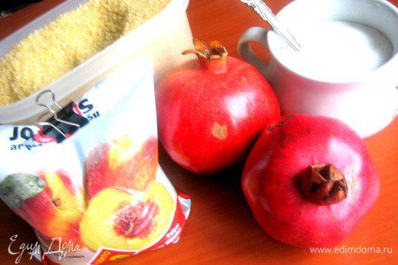 Продукты...Йогурт был куплен питьевой персиковый,но добавки не принципиально важны.