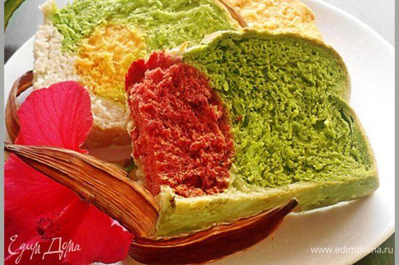 Пока хлеб поднимается, нагреваем духовку до 230 градусов и затем выпекаем хлеб 40-50 минут.