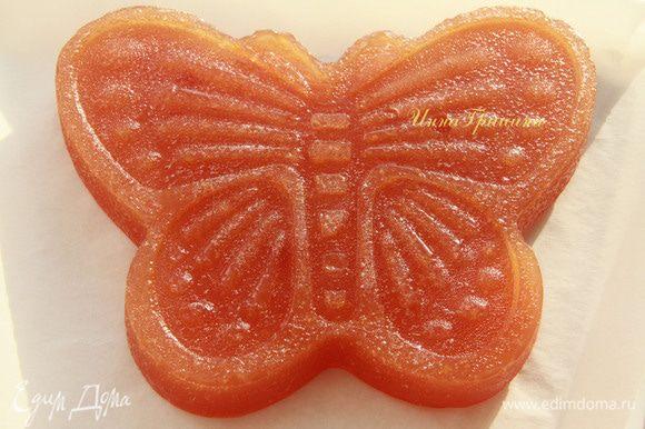 Бабочка из айвового мармелада))) Очень вкусно! Дети в восторге!
