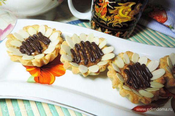 Даем шоколаду застыть и наслаждаемся! Приятного аппетита!!!