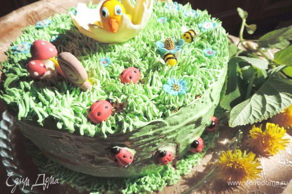 Наш торт готов!