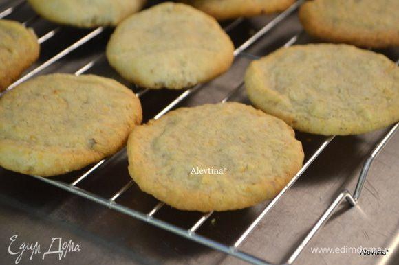 Дать остыть 5 мин. на решетке и печенье готово. Угощаемся!!!