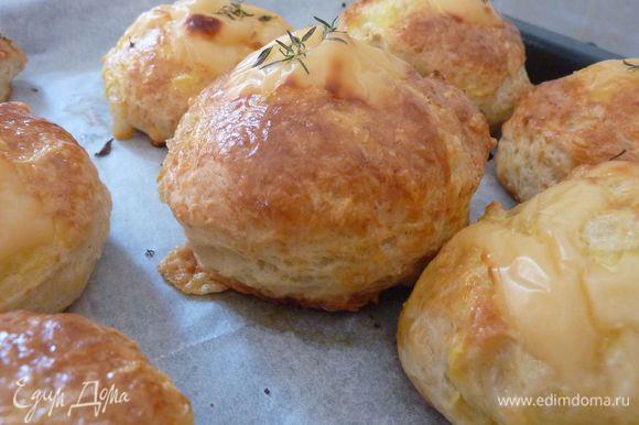 Очень рекомендую - Английские сырные сконы (Scone) от Svetlana Gorelova http://www.edimdoma.ru/retsepty/67188-angliyskie-syrnye-skony-scone Очень вкусные и ароматные сконы.