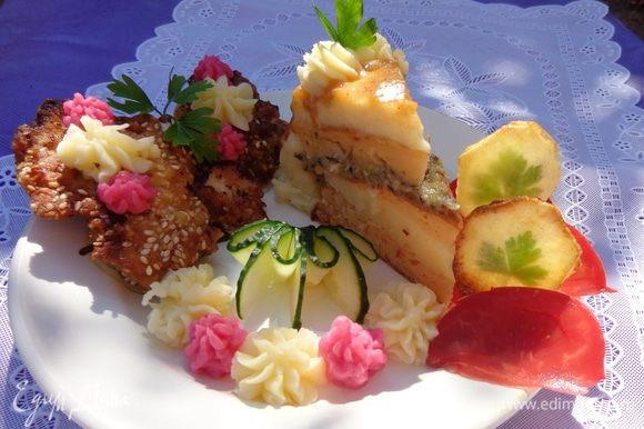 А так он выглядит на тарелке. Приятного аппетита!