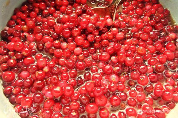 Все ягоды у нас получились в меду, не больше не меньше!