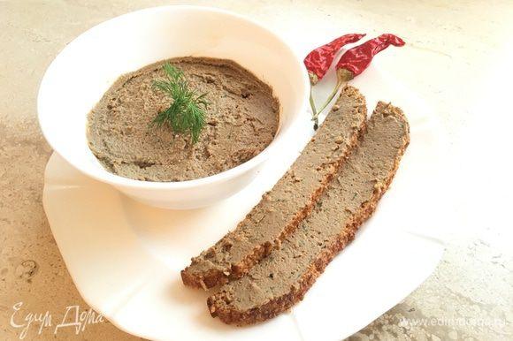 Мой диет-вариант вкуснейшей закуски без вреда фигуре — паштет на кусочке хлеба http://www.edimdoma.ru/retsepty/77849-aromatnyy-hleb-iz-otrubey-bez-muki-dieticheskiy