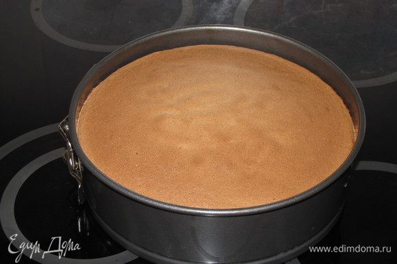Выпекать в заранее разогретой до 180°C духовке 25 минут. Готовность проверить спичкой.