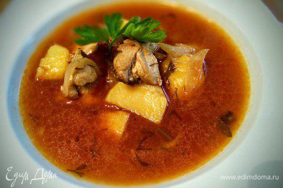Подавать со свежим хлебушком. Соус Руй: самый простой рецепт (сложного я все равно не знаю) состоит в том, что майонез смешивается с оливковым маслом, красным перцем и огромным количеством толченного чеснока. Приятного аппетита!
