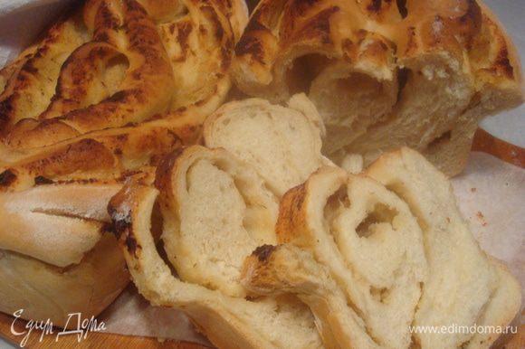 Необыкновенно вкусный хлеб. Хлеб, который вкусен сам по себе. Нарезаем и наслаждаемся.