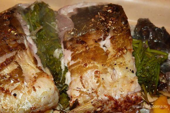 Ароматная и нежная рыбка готова! Приятного аппетита!!!