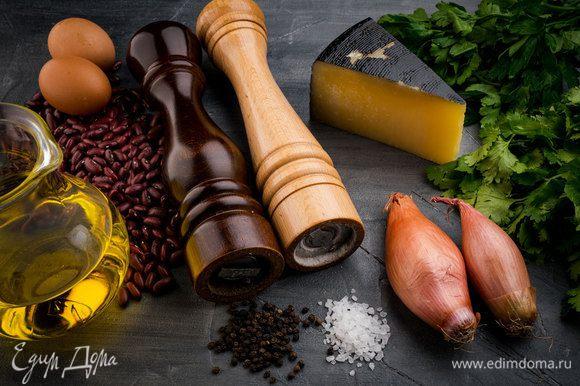 Для приготовления яичницы нам понадобятся следующие ингредиенты.