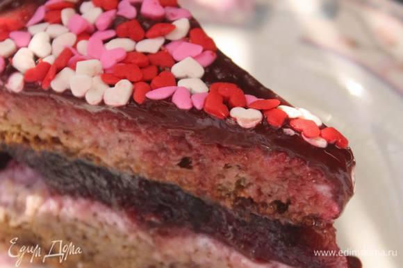 Но вкус этого торта сказал — делись рецептом, он должен попасть в мир! Потому что это действительно очень нежно и вкусно. Приятного и сладкого аппетита!