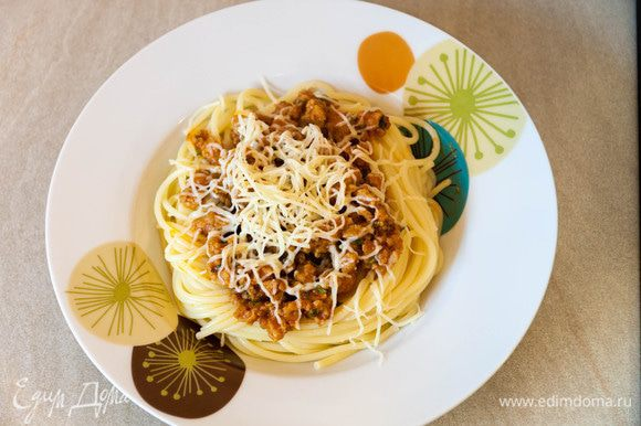 Вот такое красивое ароматное блюдо у нас получилось. Приятного вам аппетита!