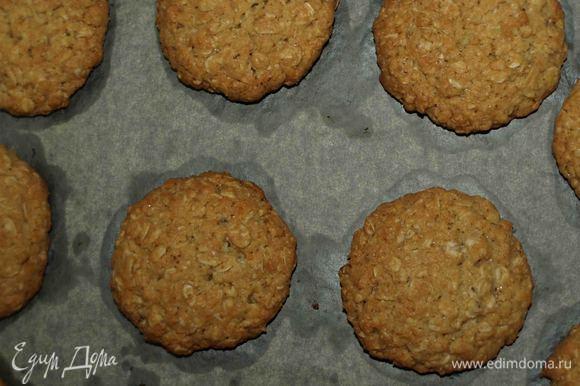Выкладываем печенья на противень и отправляем в заранее разогретую духовку до 180°С на 15 — 20 минут.