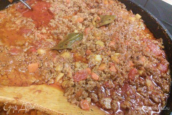 Как приготовить соус болоньезе, я подробно описывала здесь http://www.edimdoma.ru/retsepty/69169-sous-bolonieze. Я и сегодня воспользовалась именно этим рецептом болоньезе. И по обыкновению приготовила большую порцию, часть которой заморозила.