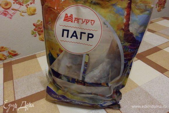 Вот такой симпатичный пакетик от ТМ «Магуро».