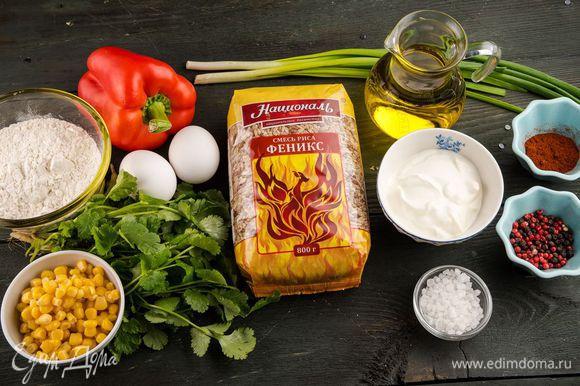 Для приготовления биточков нам понадобятся следующие ингредиенты.