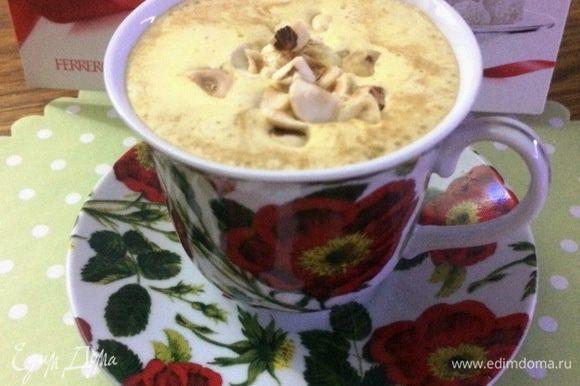 А вот ссылка на сам рецепт кофе от Леночки https://www.edimdoma.ru/retsepty/66593-moy-utrenniy-kofe. Кто еще не успел попробовать, не откажите себе в удовольствии.