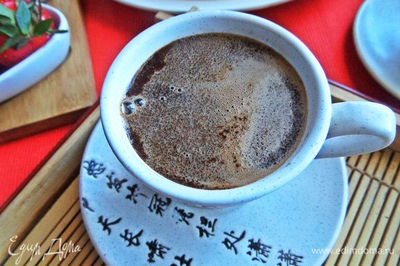 Подавать с чаем или кофе.