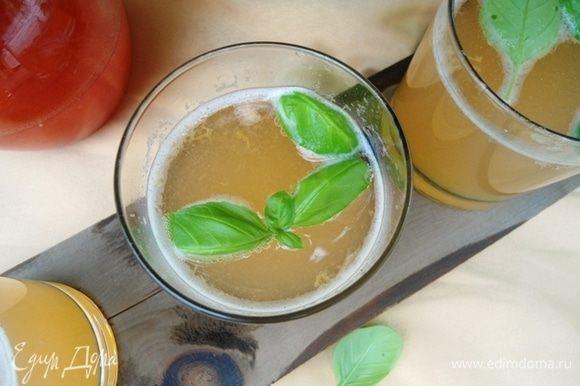 Ароматный домашний лимонад из натуральных продуктов готов! Близкие оценили, попробуйте и вы.