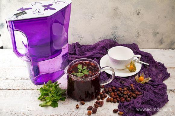 Полезный витаминный чай готов!
