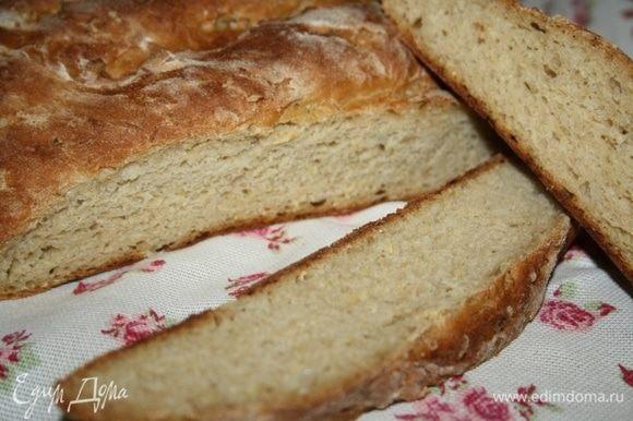 Кабачковый хлеб готов, приятного аппетита!