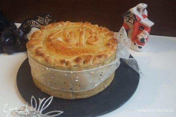 Приятного аппетита и с наступающим Новым годом и Рождеством!