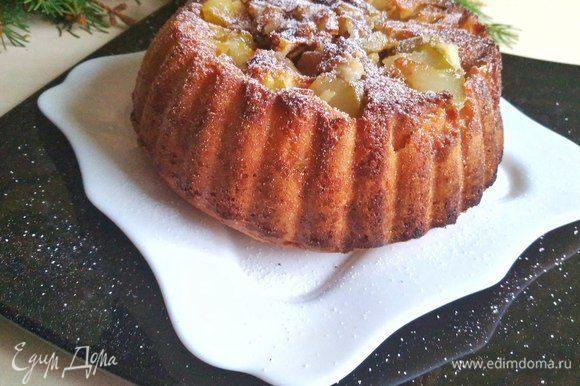 Вот и готов наш замечательный пирожок.