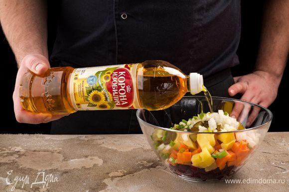 Для особого аромата добавьте нерафинированное подсолнечное масло ТМ «Корона изобилия».