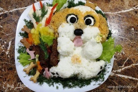 Хорошего настроения и приятного аппетита вашим деткам!