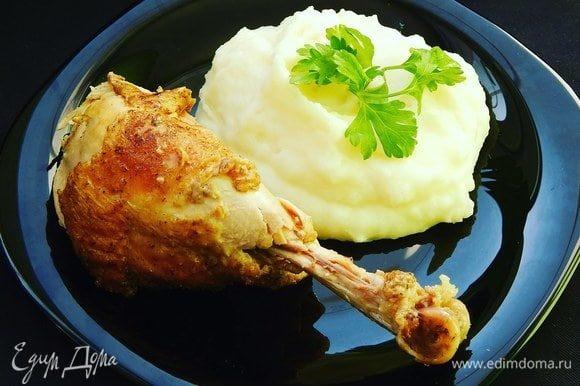 Нежное мясо, тающее во рту, готово. Приятного аппетита!