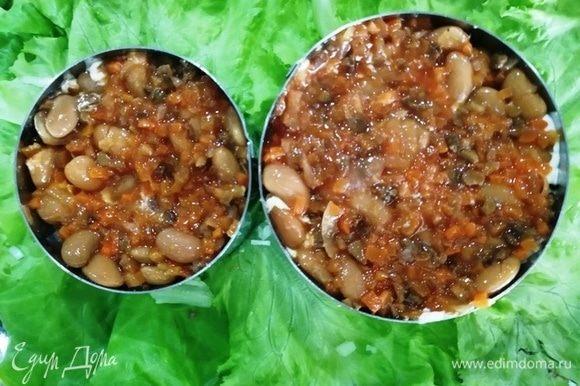 Фасоль с грибами по-домашнему ТМ «Фрау Марта».