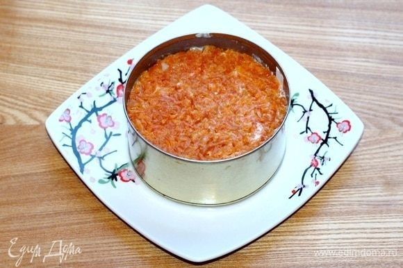 Морковь + соус.