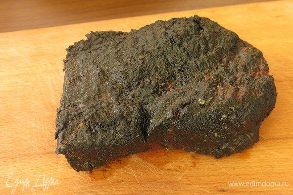 Мясо получается сочным, с ароматом дымка, но без крови.