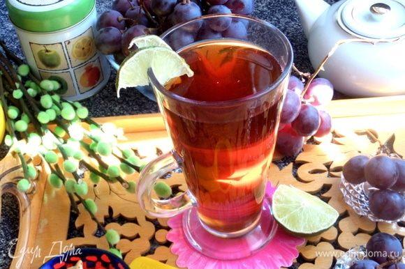 Конечно, много зависит от качества черного чая. Попробуйте именно с хорошим насыщенным сортом.