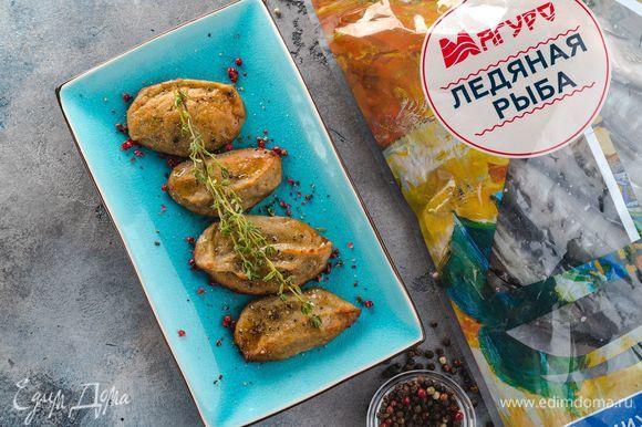 Запекайте рыбные биточки в предварительно разогретой до 190°С духовке в течение 30-45 минут. Приятного аппетита!