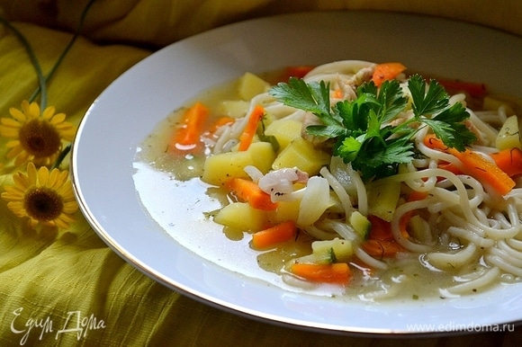 Наваристый густой суп, как в детстве!