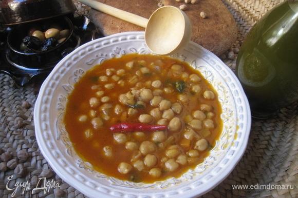 Подавать горячим, полив сверху оливковым маслом.